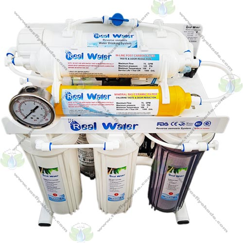 تصفیه آب Real water مدل rw 6