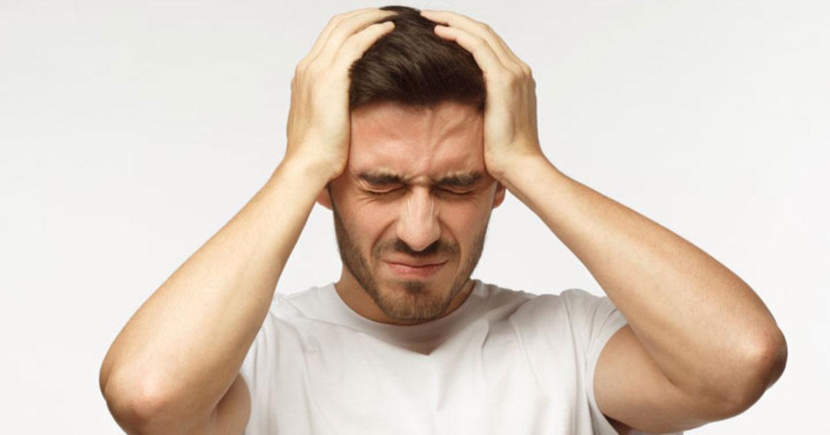 سر درد ناشی از کم آبی