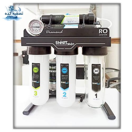 دستگاه تصفیه آب اسمارت دراپ مدل DIAMONDدیموند